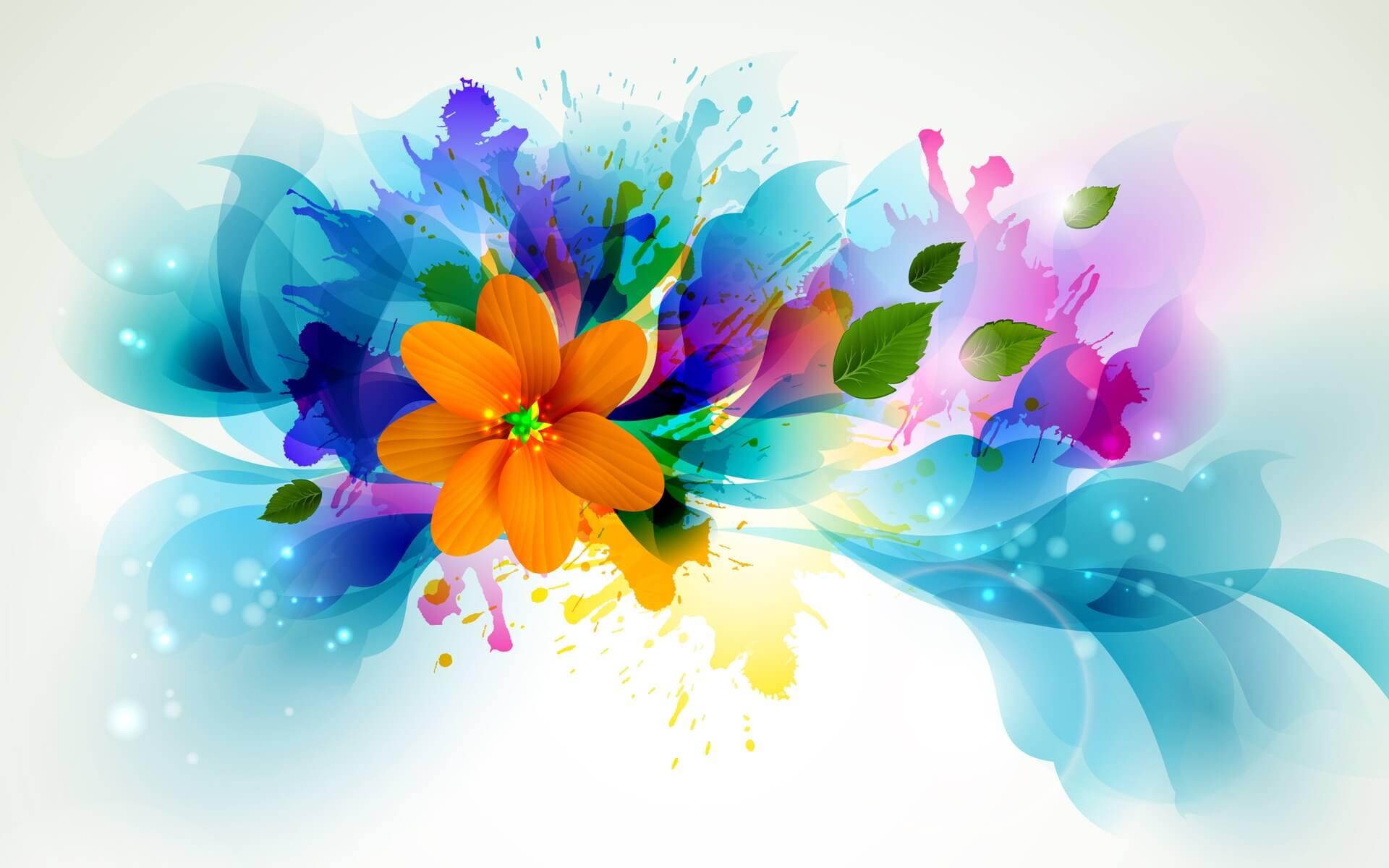 Обои На Рабочий Стол Абстракция Цветов